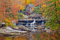Autumn Splendor at Glade Creek