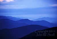 Evening at Mt.LeConte