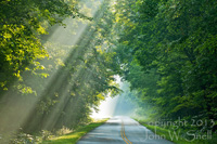 Light Rays on the Parkway